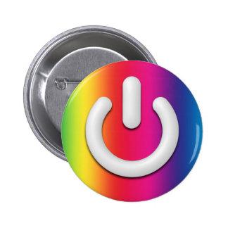 Rainbow Standby Button - Vertical