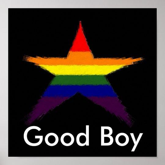 Rainbow Star Award Poster