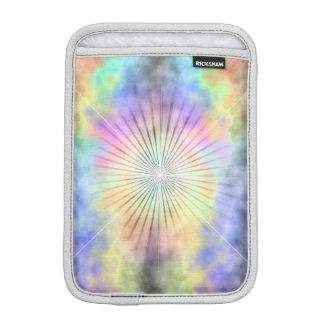 Rainbow Star Burst Horizon Sleeve For iPad Mini