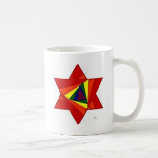 Rainbow Star Coffee Mugs
