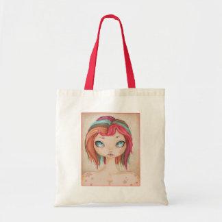 Rainbow Star fairy tote Canvas Bags