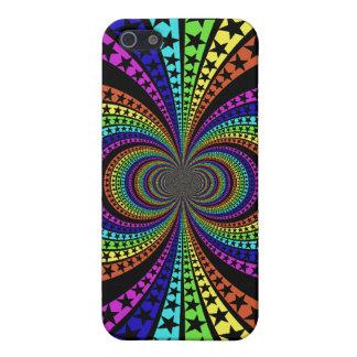 Rainbow star iphone case design iPhone 5 cover