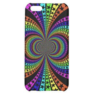 Rainbow star iphone case design iPhone 5C case