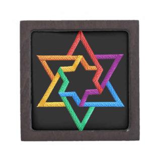 Rainbow Star of David Gift Box Premium Gift Box