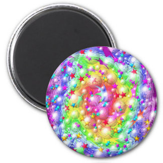 Rainbow Star Parade Magnet