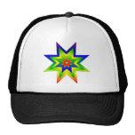 Rainbow Star Trucker Hat