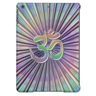 Rainbow Starburst Sacred OM Symbol iPad Air Case