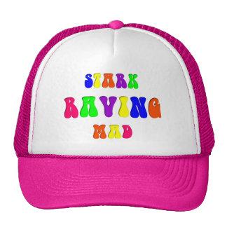 "Rainbow ""Stark Raving Mad"" Trucker Hat"