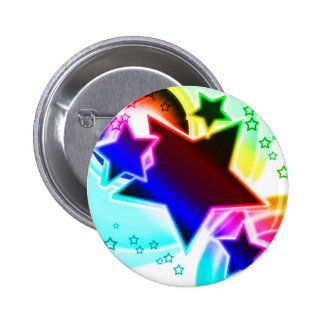 Rainbow Stars Pins