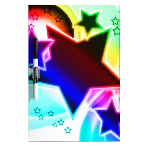 Rainbow Stars Dry-Erase Board