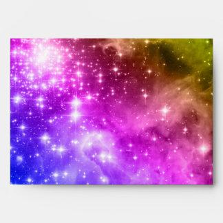 Rainbow Stars Envelope