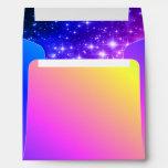 Rainbow Stars Envelopes
