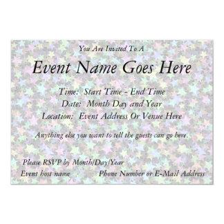 Rainbow Stars Invites