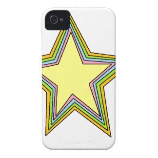 Rainbow Stars iPhone 4 Case-Mate Case