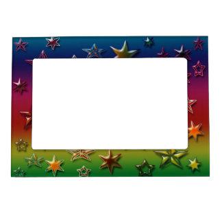 Rainbow Stars Magnetic Frame