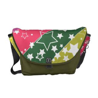 Rainbow Stars Courier Bags