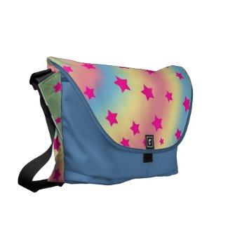 Rainbow Stars Messenger Bags