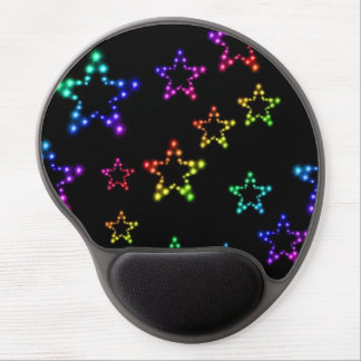 Rainbow Stars Pattern Mouse Pad Gel Mouse Pad
