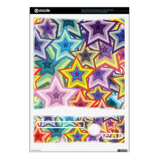 Rainbow Stars Xbox 360 S Decals