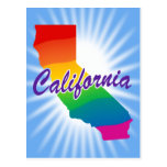 Rainbow State Of California Post Cards