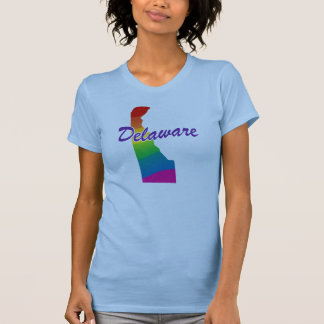 Rainbow State Of Delaware T-Shirt