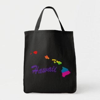 Rainbow State Of Hawaii Tote Bag