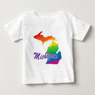 Rainbow State Of Michigan Baby T-Shirt