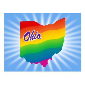 Rainbow State Of Ohio Postcards