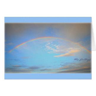 Rainbow Stationery Note Card
