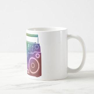 Rainbow Stereo Coffee Mug
