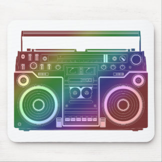 Rainbow Stereo Mouse Pads