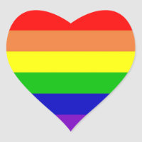 Pastel Rainbow Sticker