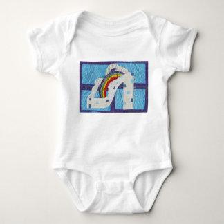 Rainbow Stiletto Babygrow Baby Bodysuit