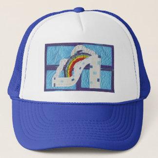 Rainbow Stiletto Baseball Cap