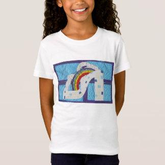 Rainbow Stiletto Girl's T-Shirt