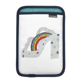 Rainbow Stiletto I-Pad Mini Sleeve