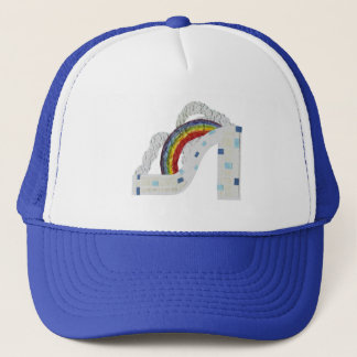 Rainbow Stiletto No Background Baseball Cap