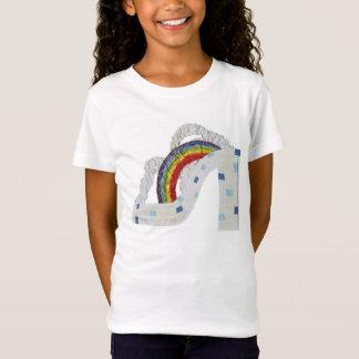 Rainbow Stiletto No Background Girl's T-Shirt