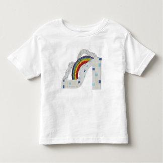 Rainbow Stiletto No Background Toddler T-Shirt