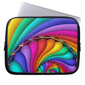Rainbow Stitchery Gay Pride LGBT Laptop Sleeve