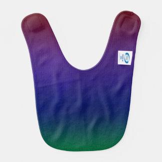 Rainbow Stockinette Baby Bib