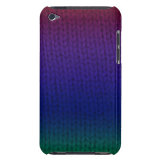 Rainbow Stockinette Barely There iPod Cover