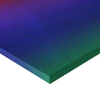 Rainbow Stockinette Canvas Print