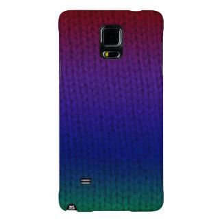 Rainbow Stockinette Galaxy Note 4 Case