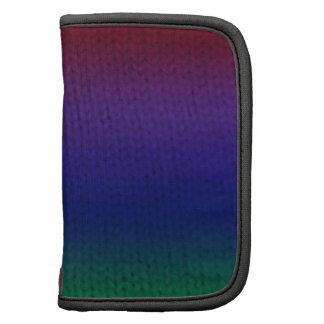 Rainbow Stockinette Planners