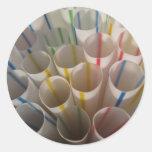 Rainbow straws! stickers