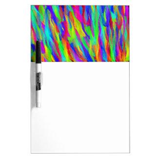 Rainbow Streaks Dry Ease Board