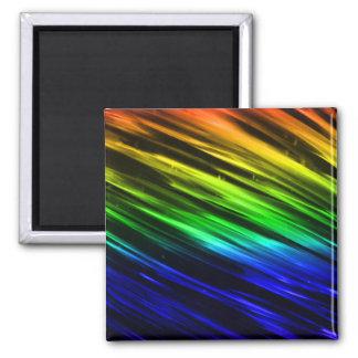 Rainbow Streaks Refrigerator Magnets