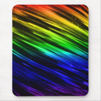 Rainbow Streaks Mouse Pad