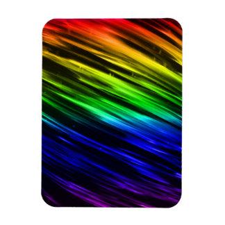 Rainbow Streaks Magnets